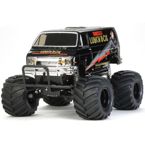 TAMIYA LUNCH BOX         BLACK