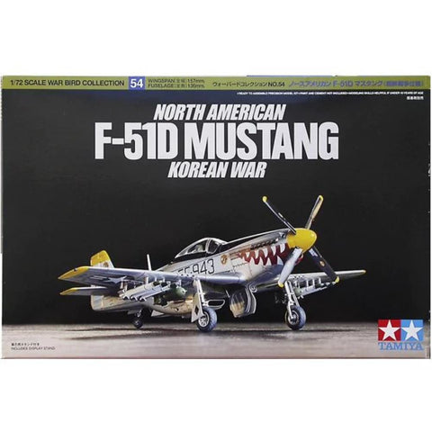 TAMIYA 1/72 North American F-51D Mustang Korean War