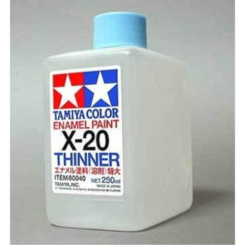 TAMIYA X-20 Thinner (250ml) - Enamel