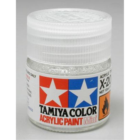 TAMIYA Acrylic X-20A THINNER  (10ML)
