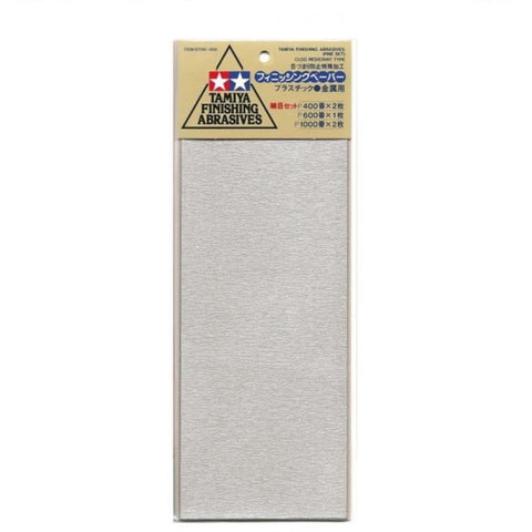 TAMIYA FINISHING ABRASIVES FIN - Hearns Hobbies Melbourne - TAMIYA