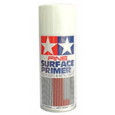 TAMIYA SURFACE PRIMER FINE WH - Hearns Hobbies Melbourne - TAMIYA