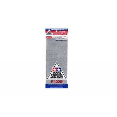 TAMIYA  FINISHING ABRASIVES P400 *3