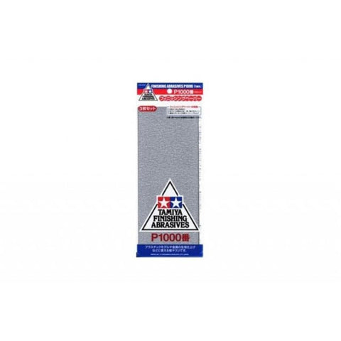 TAMIYA  FINISHING ABRASIVES P1000 *3