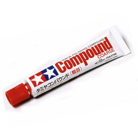 TAMIYA  POLISHING COMPOUND (COARSE) T87068