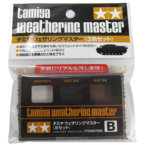 TAMIYA WEATHERING SET  B - Hearns Hobbies Melbourne - TAMIYA