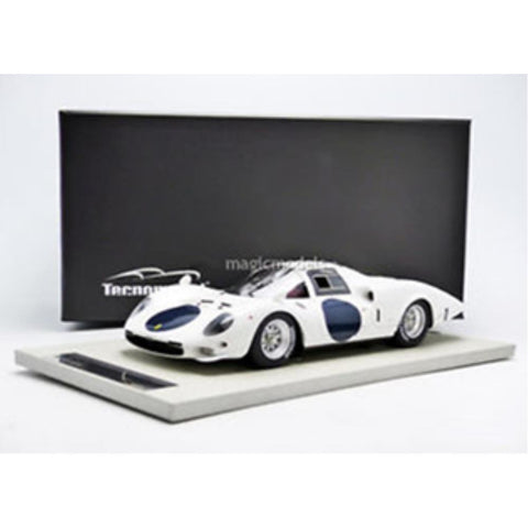 TECNOMODEL 1:18 Ferarri 365 P2 Wwhie elephant Press version
