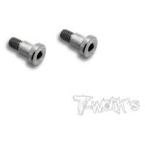 T-WORKS 64 Titanium King Pin Screw ( For Yokomo BD7'15 & BD