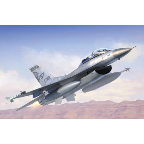 TRUMPETER 1/144 F-16B/D FIGHTING FALCON BLOCK15/30