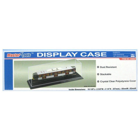 Display Case - 257x66x82mm - Hearns Hobbies Melbourne - TRUMPETER