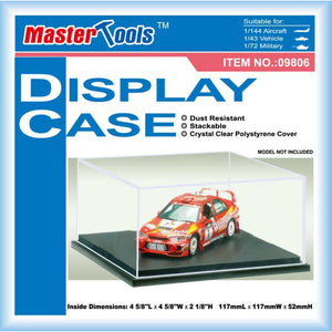 Display Case - 117x117x52mm - Hearns Hobbies Melbourne - TRUMPETER