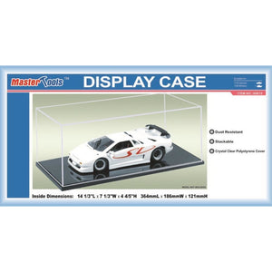 Display Case - 364x186x121mm - Hearns Hobbies Melbourne - TRUMPETER