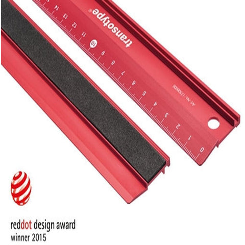 TRANSOTYPE Cutting Ruler 30cm (TR17503006)