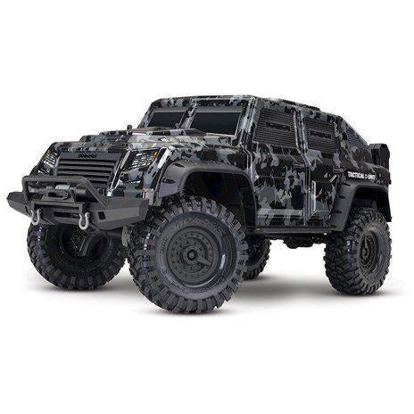 Traxxas TRX-4 Tactical 1/10 Scale Trail Rock Crawler w/Tactical Unit Body