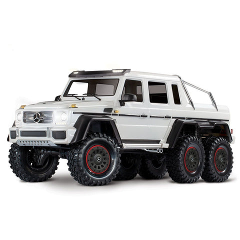 Image of TRAXXAS TRX-6 MERCEDES-BENZ G 63 AMG 6X6 - WHITE