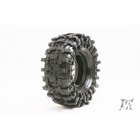 "SWEEP TRILUG Rock Crawler 1.9"" Tyres Gold Compound (Super Soft) w/Inserts (2)"