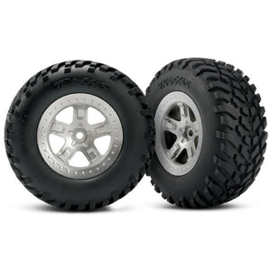TRAXXAS TYRES AND WHEELS ASSY (5873)