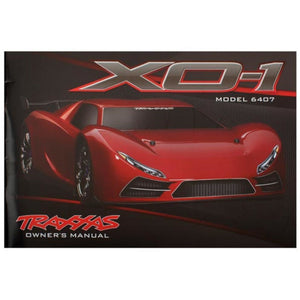 TRAXXAS OWNERS MANUAL, XO-1 (6499)
