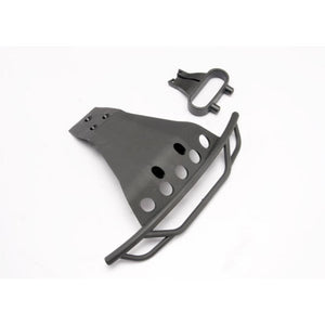 TRAXXASBUMPER FRONT BLACK SLASH (6835)