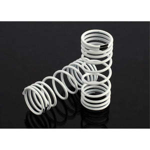 TRAXXAS SPRINGS FRONT WHITE SLASH (6857)