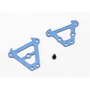 TRAXXASBULKHEAD TIE BARS FRONT AND REAR (7023)