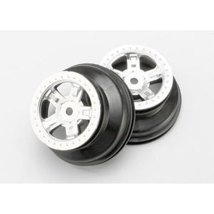TRAXXAS WHEELS SCT SATIN CHROME (7072)