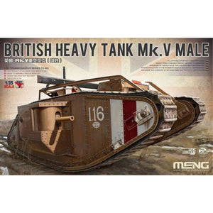 MENG 1/35 British Heavy Tank Mark V Male