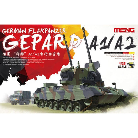MENG Gepard Flakpanzer A1/A2 (TS-030) - Hearns Hobbies Melbourne - MENG