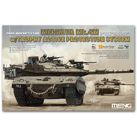 MENG 1/35 Merkava Mk.4M w/Trophy Active Protection System (