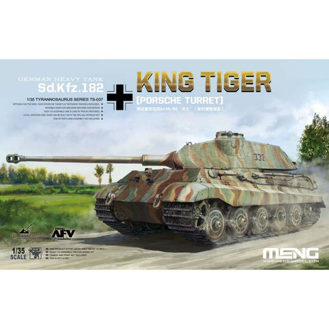 "MENG Sd.Kfz. 182 King Tiger ""Porsche"" (TS-037)"