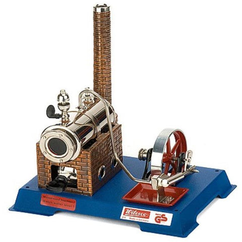 WILESCO D6 BASIC STEAM ENGINE - 135CC - Hearns Hobbies Melbourne - WILESCO