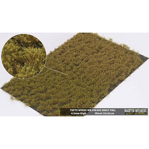 MARTIN WELBERG Tufts Weeds 4.5mm Golden Summer