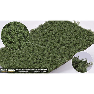 MARTIN WELBERG Weeds Low Medium Green