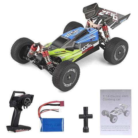 Image of WL TOYS 1/14 Offroad RC Buggy w/ Metal Chassis 2.4GHz