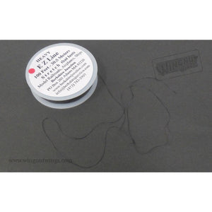 WINGNUT WINGS Heavy EZ Line Charcoal 0.20mm x 30.5m - easy