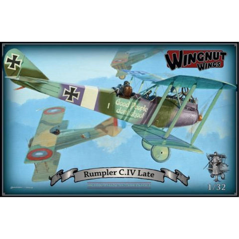 WINGNUT WINGS Rumpler C.IV (Late) (WNW-32037)