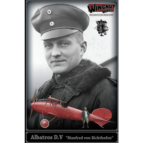 "WINGNUT WINGS Albatros D.V ""Manfred von Richthofen"" with re"