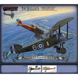 WINGNUT WINGS Sopwith F.1 Camel & LVG C.VI(WNW-32803)
