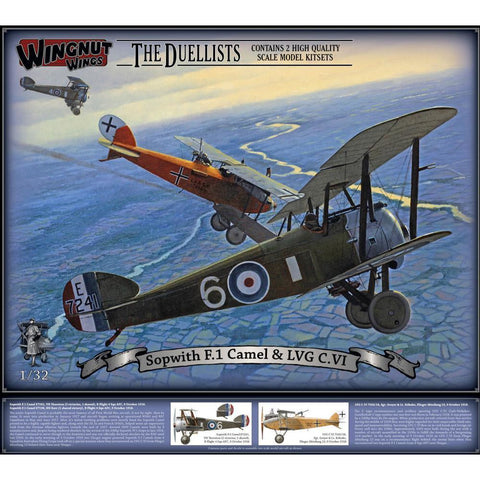 WINGNUT WINGS Sopwith F.1 Camel & LVG C.VI  (WNW-32803)