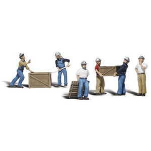 WOODLAND SCENICS HO Dock Workers