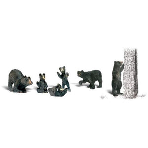 WOODLAND SCENICS HO BLACK BEARS