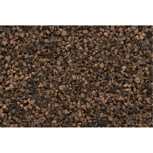WOODLAND SCENICS Dark Brown Coarse Ballast (Bag)