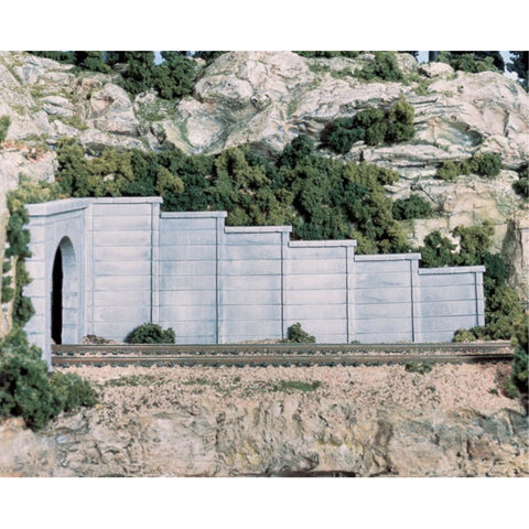 WOODLAND SCENICS N Retain Wall Concrete 6 Ea - Hearns Hobbies Melbourne - WOODLAND SCENICS