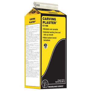 WOODLAND SCENICS Carving Plaster 1/2 Gal