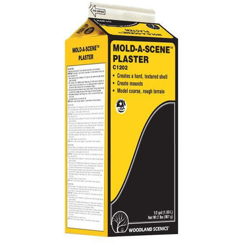 Image of WOODLAND SCENICS Mold-A-Scene Plaster 1/2 Gal 1.8 Lt