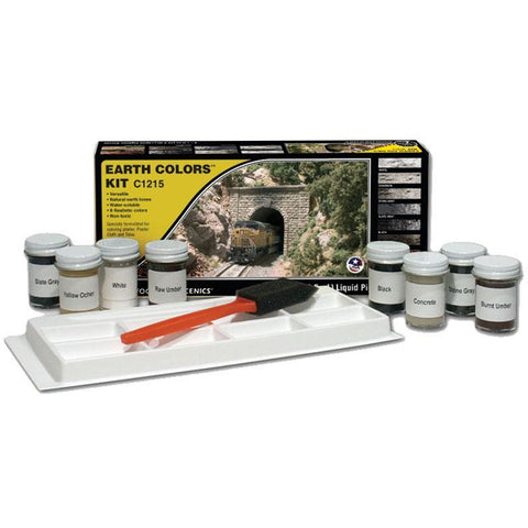 Image of WOODLAND SCENICS Earth Color Kit - Terrain Paint