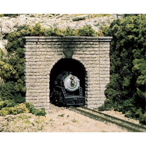 WOODLAND SCENICS HO Tunnel Port Cut Stn Single1ea