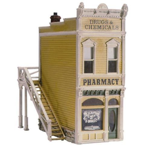 WOODLAND SCENICS HO PHARMACY (KIT)