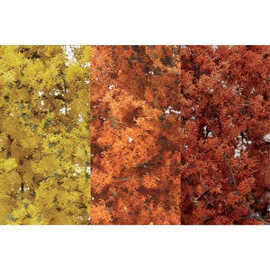 WOODLAND SCENICS Fall Mix Fine Leaf Foliage