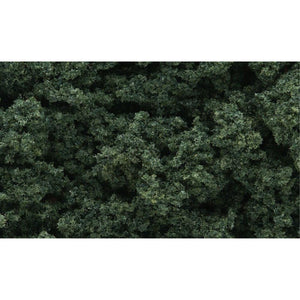 WOODLAND SCENICS Dark Green Clump Foliage